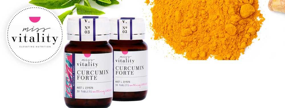 Miss Vitality Curcumin forte grande anti oxidant