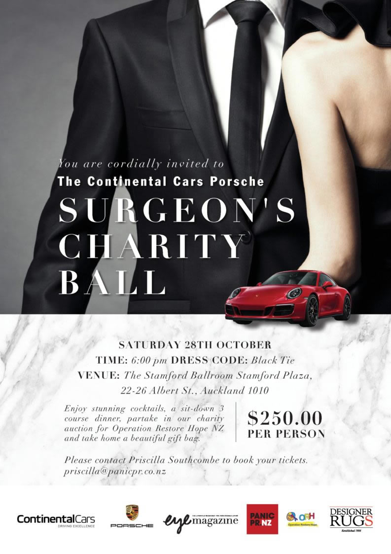Surgeons Charity Ball Autumn 2017